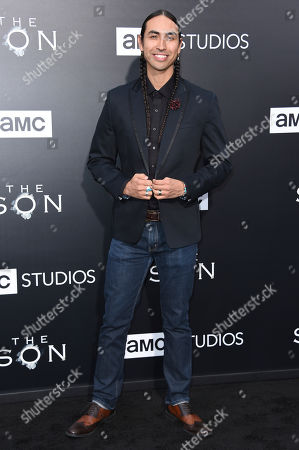 "Editorial image of LA Premiere of ""The Son"" Season One - Arrivals, Los Angeles, USA - 3 Apr 2017"