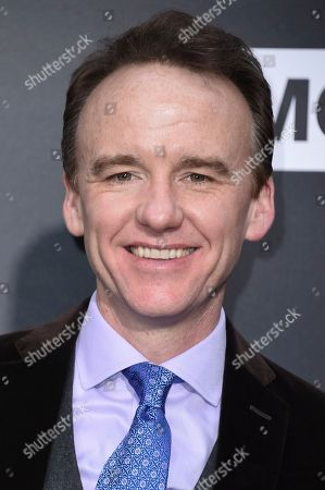 """Stock Image of David Wilson Barnes attends the LA premiere of """"The Son"""" Season One held at ArcLight Hollywood, in Los Angeles"""