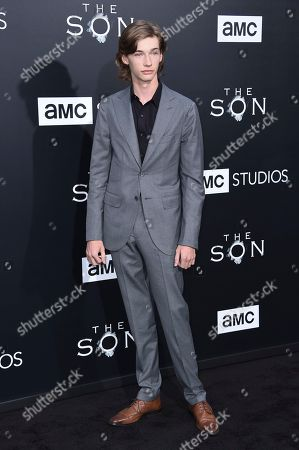 "Editorial picture of LA Premiere of ""The Son"" Season One - Arrivals, Los Angeles, USA - 3 Apr 2017"