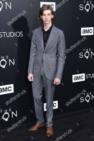 """Jacob Lofland attends the LA premiere of """"The Son"""" Season One held at ArcLight Hollywood, in Los Angeles"""