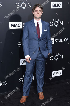 "Editorial photo of LA Premiere of ""The Son"" Season One - Arrivals, Los Angeles, USA - 3 Apr 2017"
