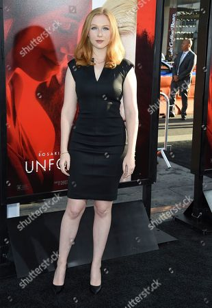 """Molly Quinn arrives at the Los Angeles premiere of """"Unforgettable"""" at the TCL Chinese Theatre on"""