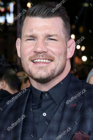 """Michael Bisping arrives at the LA Premiere of """"xXx: Return of Xander Cage"""" at TCL Chinese Theater IMAX, in Los Angeles"""