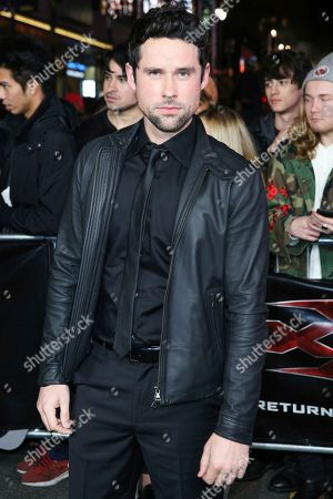 """Stock Picture of Ben Hollingsworth arrives at the LA Premiere of """"xXx: Return of Xander Cage"""" at TCL Chinese Theater IMAX, in Los Angeles"""