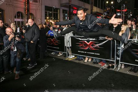 """Editorial image of LA Premiere of """"xXx: Return of Xander Cage"""" - Arrivals, Los Angeles, USA - 19 Jan 2017"""