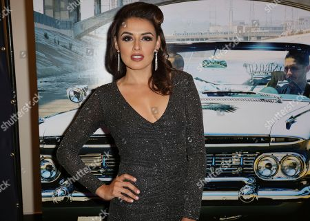"Vannessa Vasquez arrives at the Los Angeles Special Screening of ""Lowriders"" at the L.A. Live on"
