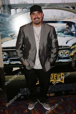 """Noel Gugliemi arrives at the Los Angeles Special Screening of """"Lowriders"""" at the L.A. Live on"""