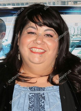"Carla Jimenez arrives at the Los Angeles Special Screening of ""Lowriders"" at the L.A. Live on"