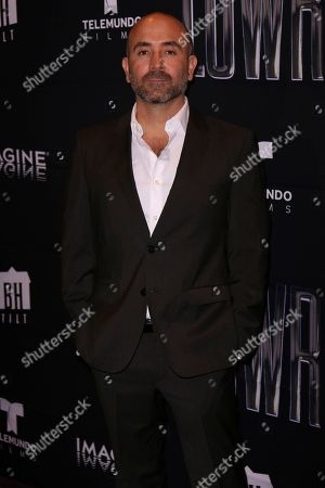"Ricardo de Montreuil arrives at the Los Angeles Special Screening of ""Lowriders"" at the L.A. Live on"