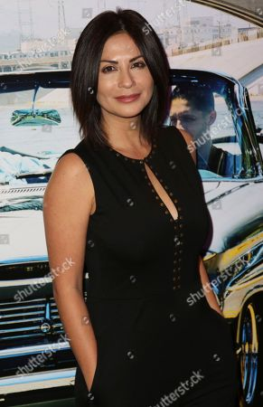 """Stock Picture of Sandra Eloani arrives at the Los Angeles Special Screening of """"Lowriders"""" at the L.A. Live on"""