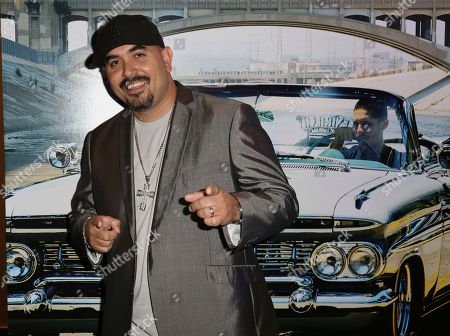 """Stock Image of Noel Gugliemi arrives at the Los Angeles Special Screening of """"Lowriders"""" at the L.A. Live on"""