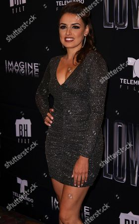 "Vanessa Vasquez arrives at the Los Angeles Special Screening of ""Lowriders"" at the L.A. Live on"