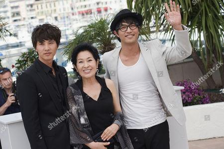 Bin Won, Kim Hye-Ja and Jin Goo