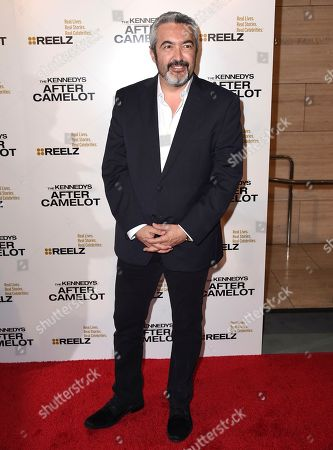"""Director Jon Cassar arrives at a special screening of """"The Kennedys - After Camelot"""" at The Paley Center for Media, in Beverly Hills, Calif"""