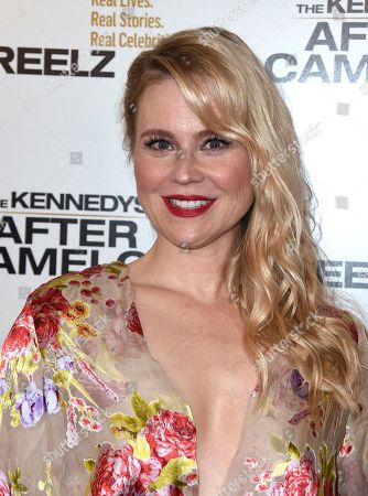 """Kristin Booth arrives at a special screening of """"The Kennedys - After Camelot"""" at The Paley Center for Media, in Beverly Hills, Calif"""