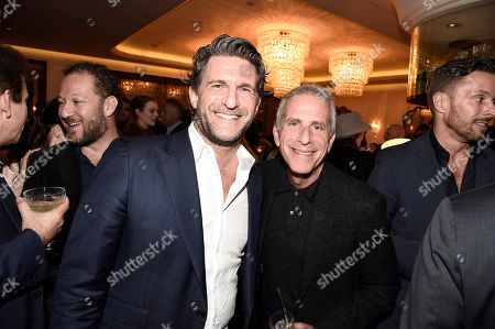 Producers Gary Gilbert and Marc Platt seen at Lionsgate Celebrates the Music of LA LA LAND, in Los Angeles