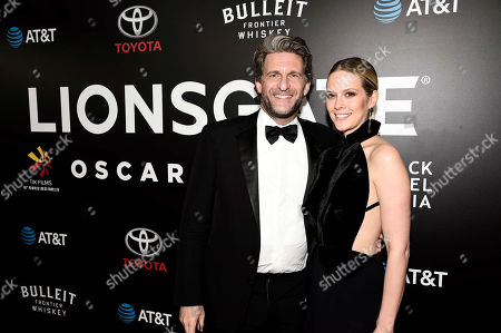 """Stock Picture of La La Land"""" Producer Gary Gilbert and Charlotte Gilbert seen at Lionsgate's Oscar Celebration, presented by Bulleit Frontier Whiskey at Soho House West Hollywood, in West Hollywood, Calif"""