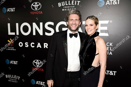 """La La Land"""" Producer Gary Gilbert and Charlotte Gilbert seen at Lionsgate's Oscar Celebration, presented by Bulleit Frontier Whiskey at Soho House West Hollywood, in West Hollywood, Calif"""