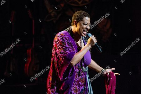 Lisa Fischer performs at Love Rocks NYC! at the Beacon Theatre on in New York