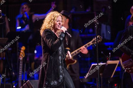 Amy Helm performs during Love Rocks NYC! at the Beacon Theatre on in New York