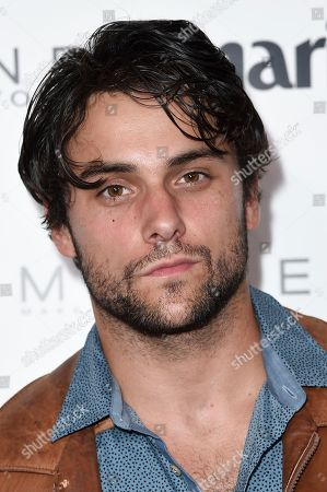 Jack Falahee attends the Marie Claire Celebrates May Cover Stars event at the Doheny Room, in West Hollywood, Calif