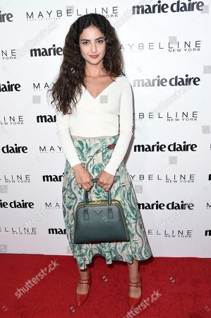 Medalion Rahimi attends the Marie Claire Celebrates May Cover Stars event at the Doheny Room, in West Hollywood, Calif