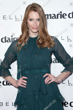 Stock Image of Alyssa Sutherland attends the Marie Claire Celebrates May Cover Stars event at the Doheny Room, in West Hollywood, Calif