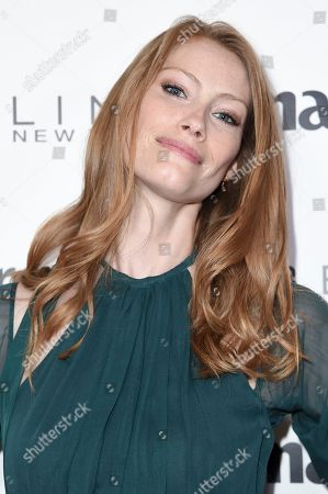 Alyssa Sutherland attends the Marie Claire Celebrates May Cover Stars event at the Doheny Room, in West Hollywood, Calif