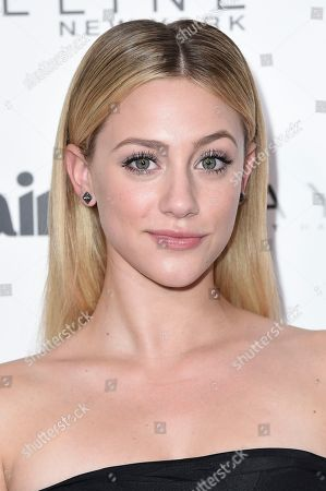 Stock Photo of Lili Reinheart attends the Marie Claire Celebrates May Cover Stars event at the Doheny Room, in West Hollywood, Calif