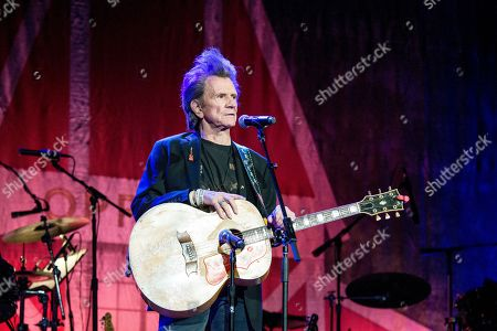 Stock Image of Gary Mule Deer performs during Marty Stuart's 16th Annual Late Night Jam at the Ryman Auditorium on in Nashville, Tenn
