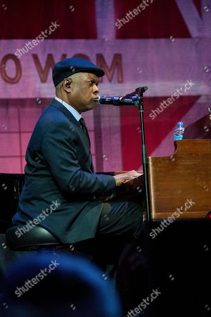 Booker T. Jones performs during Marty Stuart's 16th Annual Late Night Jam at the Ryman Auditorium on in Nashville, Tenn