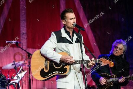 Stock Photo of James Intveld performs during Marty Stuart's 16th Annual Late Night Jam at the Ryman Auditorium on in Nashville, Tenn