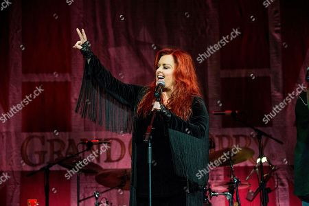 Wynonna Judd performs during Marty Stuart's 16th Annual Late Night Jam at the Ryman Auditorium on in Nashville, Tenn