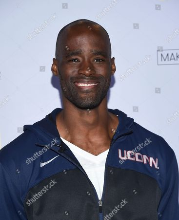 Emeka Okafor attends MTV's 2017 National College Signing Day at The Public Theater, in New York