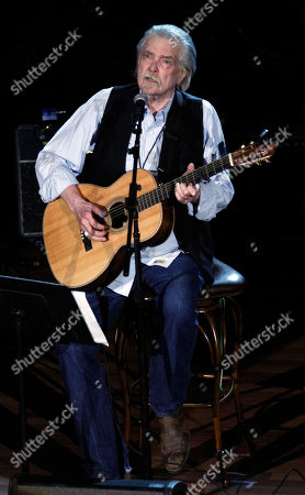"""Guy Clark at the 11th annual Americana Honors & Awards in Nashville, Tenn. Clark, the West Texas songwriter who penned such country hits as """"L.A. Freeway"""" and """"Desperados Waiting for a Train,â?? is nominated for a Grammy for his album, â?oeMy Favorite Picture of You.â"""