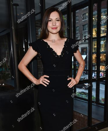 Stock Image of Actress Jill Flint attends the NBC Summer Talent Cocktail Party at 1 Hotel Central Park, in New York
