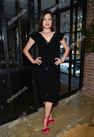Actress Jill Flint attends the NBC Summer Talent Cocktail Party at 1 Hotel Central Park, in New York