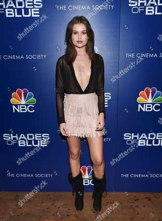 """Editorial picture of NBC's """"Shades of Blue"""" Season 2 Premiere, New York, USA - 1 Mar 2017"""