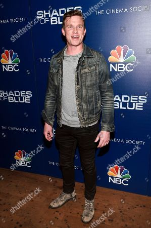 "Actor Warren Kole attends the ""Shades of Blue"" season two premiere, hosted by NBC and The Cinema Society, at The Roxy Cinema, in New York"