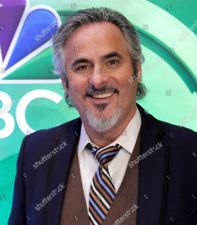 David Feherty attends the NBCUniversal mid-season press day at the Four Seasons, in New York