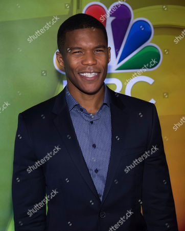 Gaius Charles attends the NBCUniversal mid-season press day at the Four Seasons, in New York