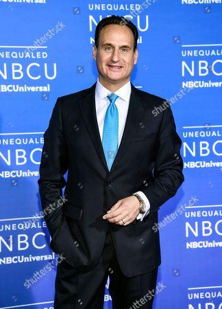 Noticias Telemundo news anchor Jose Diaz-Balart attends the NBCUniversal Network 2017 Upfront at Radio City Music Hall, in New York