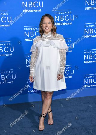 Actress Adamari Lopez attends the NBCUniversal Network 2017 Upfront at Radio City Music Hall, in New York
