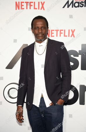 "Stock Picture of Actor Souleymane Sy Savane attends Netflix's ""Master of None"" season two premiere at the SVA Theatre, in New York"