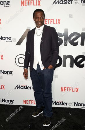 "Actor Souleymane Sy Savane attends Netflix's ""Master of None"" season two premiere at the SVA Theatre, in New York"