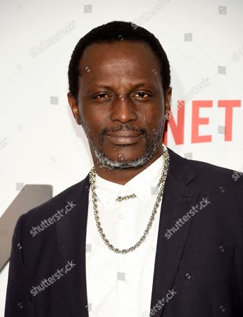 """Actor Souleymane Sy Savane attends Netflix's """"Master of None"""" season two premiere at the SVA Theatre, in New York"""
