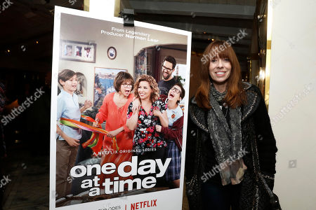 """Mackenzie Phillips seen at Netflix """"One Day at a Time"""" S1 Premiere After Party at The London West Hollywood, in West Hollywood, Calif"""