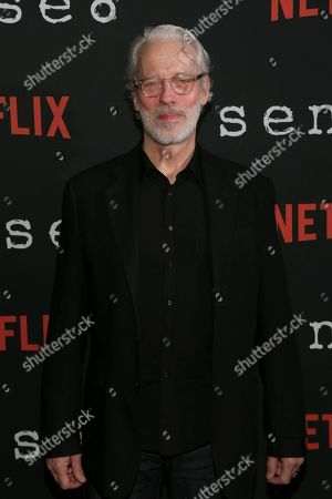"Stock Picture of Actor Terrence Mann attends the Netflix ""Sense8"" Season 2 premiere at AMC Loews Lincoln Square, in New York"