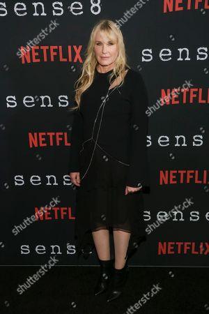 "Actress Daryl Hannah attends the Netflix ""Sense8"" Season 2 premiere at AMC Loews Lincoln Square, in New York"