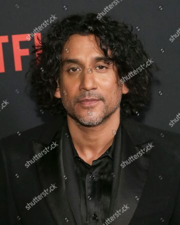 """Actor Naveen Andrews attends the Netflix """"Sense8"""" Season 2 premiere at AMC Loews Lincoln Square, in New York"""